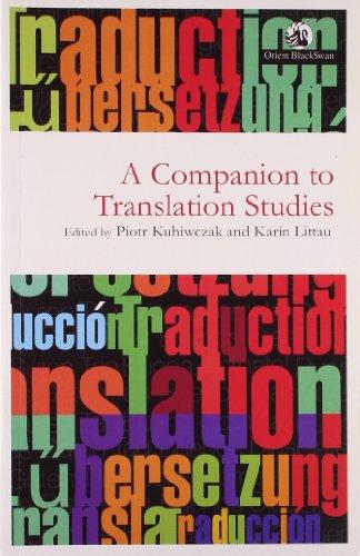 9788125041474: A Companion to Translation Studies