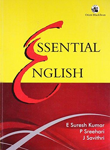 Essential English: E Suresh Kumar