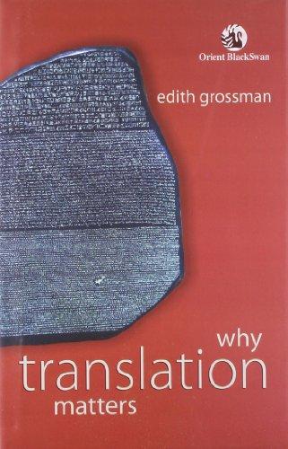 9788125041672: Why Translation Matters