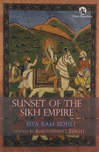 9788125044765: Sunset of the Sikh Empire