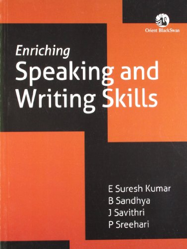 ENRICHING SPEAKING & WRITING SKILLS (GITAM): SURESH KUMAR E