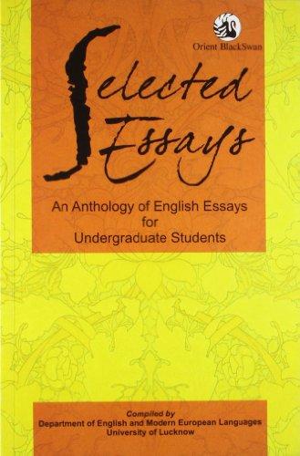 9788125049920: Selected Essays: An Anthology of English Essays for Undergraduate Students