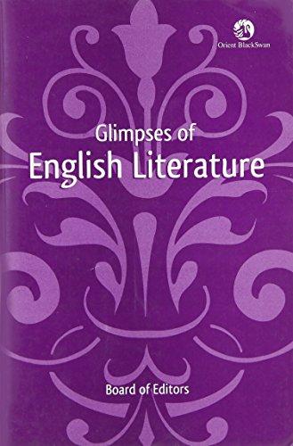 Glimpses of English Literature: Board of Editors