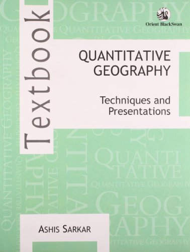 9788125052661: Quantitative Geography: Techniques and Presentations