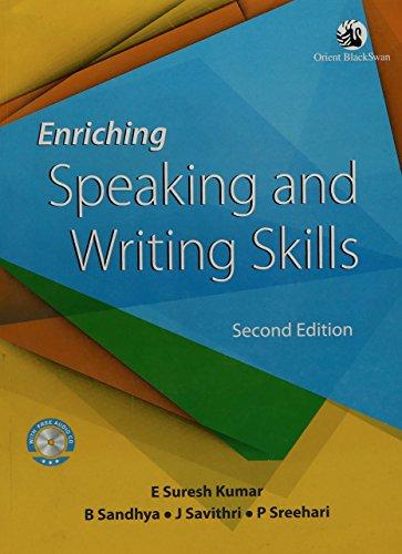 Enriching Speaking and Writing Skills: Sreehari P. Savithri