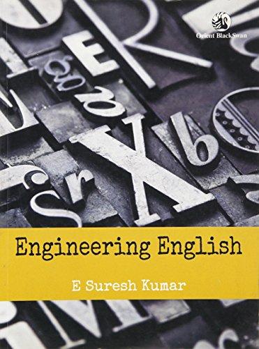 Engineering English: E. Suresh Kumar