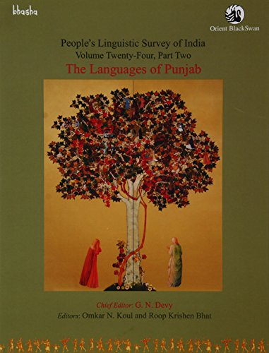 People's Linguistic Survey of India: Volume 24: edited by Omkar