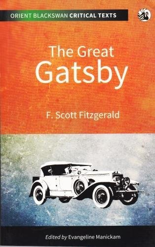 The Great Gatsby: edited by F.