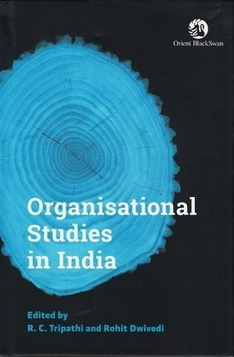 Organisational Studies in India: edited by R.