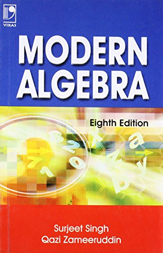 Modern Algebra: Qazi Zameeruddin Surjeet
