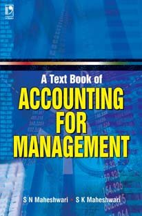9788125921400: A Textbook of Accounting for Management