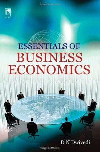 Essentials Of Business Economic: Dwivedi