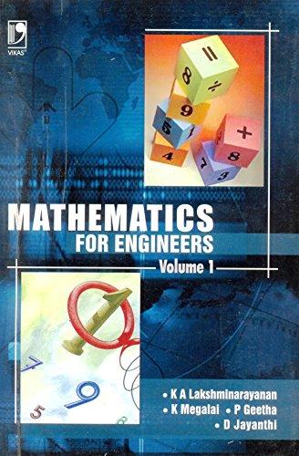 Mathematics For Engineers (Vol. I): K.A. Lakshminarayanan, K.