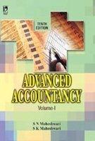 Advanced Accountancy, Vol. 1: S N Maheshwari
