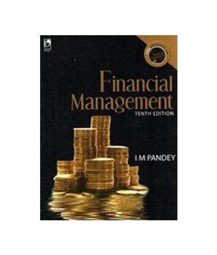 Financial Management: I.M. Pandey