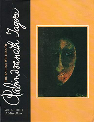 9788126014804: Vol.3: A Miscellany The English Writings Of Rabindranath Tagore