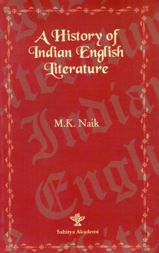 9788126018727: A History of Indian English Literature