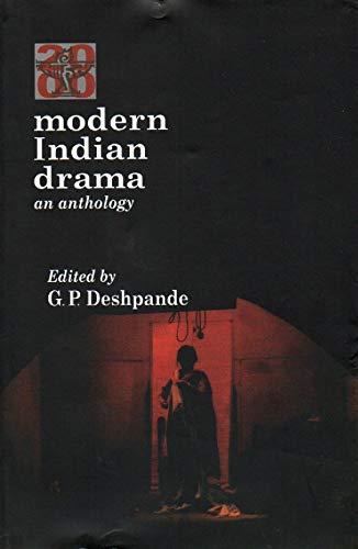 9788126018758: Modern Indian Drama (an Anthology)