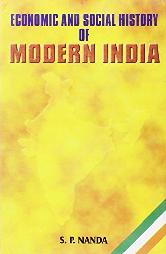 9788126104086: Economic and Social History of Modern India (1757-1947)