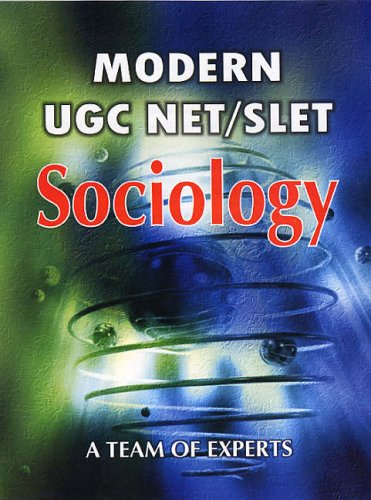 9788126118601: Modern UGC Net/slet: Sociology