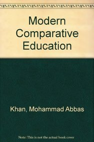 9788126120734: Modern Comparative Education