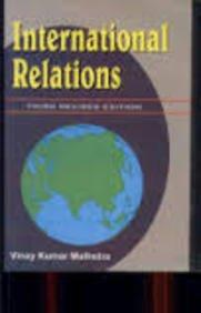 INTERNATIONAL RELATIONS-Paperback: V.K.MALHOTRA
