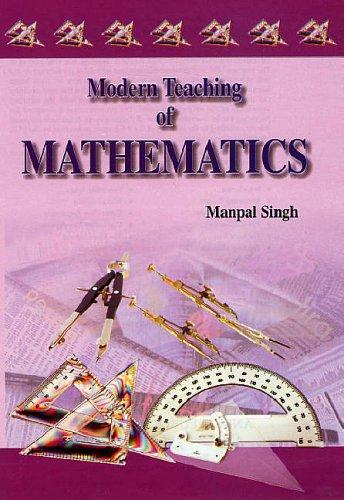 Modern Teaching of Mathematics: Man Pal Singh
