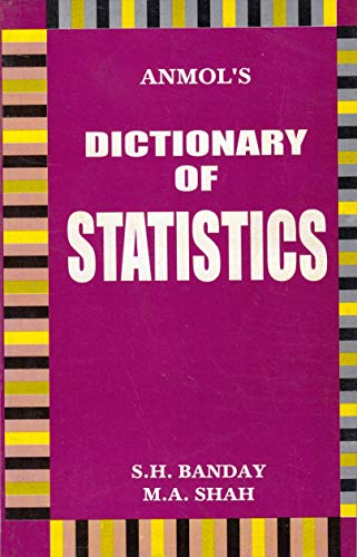 DICTIONARY OF STATISTICS-Paperback: M.A.SHAH