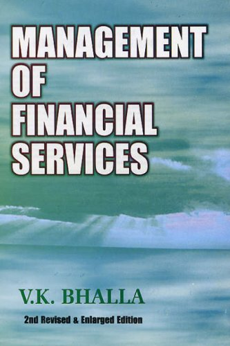 9788126122950: Management of Financial Services