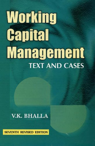9788126123957: Working Capital Management