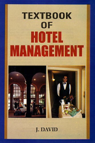 Textbook of Hotel Management: J. David
