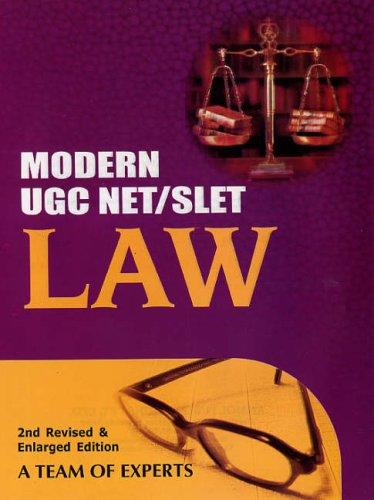 Modern UGC NET/SLET: Law
