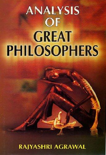 Analysis of Great Philosophers: Rajyashri Agrawal
