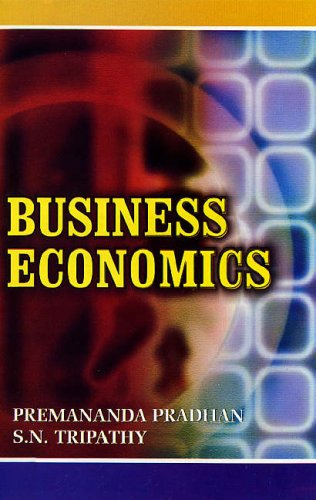 Business Economics: Premananda Pradhan and