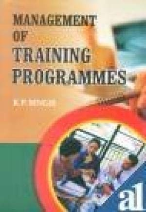 MANAGEMENT OF TRAINING PROG-Paperback: R.P.SINGH