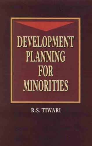 Development Planning for Minorities: R.S. Tiwari