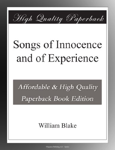 William Blake???Songs Of Innocence And Of Experience (812613643X) by Aditya Nandwani