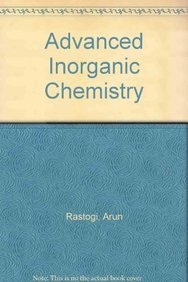 9788126143726: Advanced Inorganic Chemistry