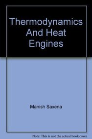 9788126146109: Thermodynamics And Heat Engines