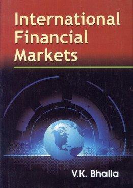 9788126146338: INT.FINANCIAL MARKETS/V.K.B./H