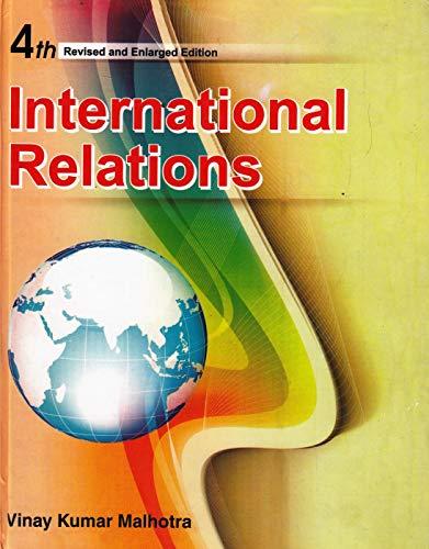 International Relations: Vinay Kumar Malhotra