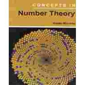 Concepts in Number Theory: Mahanta Sabita