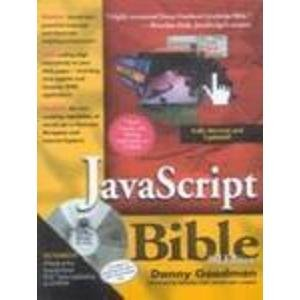 9788126500802: Javascript Bible, 3Rd Edition With Cd