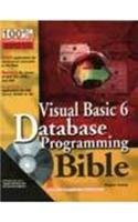 9788126501250: Visual Basic 6 Database Programming Bible