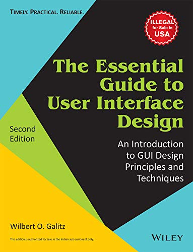 Essential Guide To User Interface Design: An: Galitz Wilberto