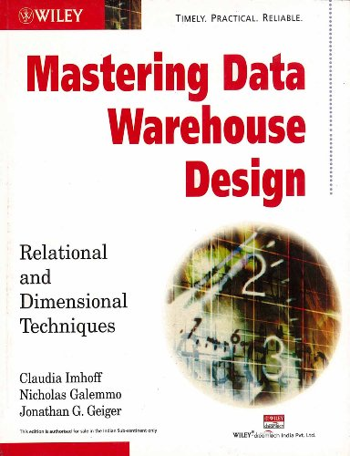 9788126503650: Mastering Data Warehouse Design