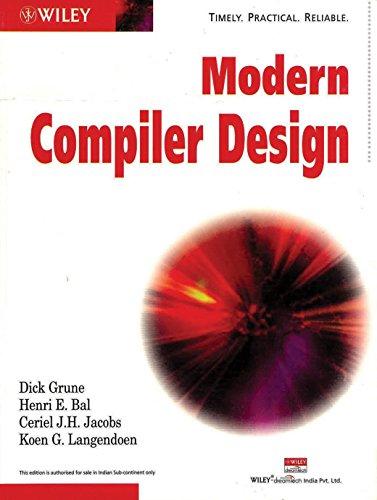 9788126504183: Modern Compiler Design