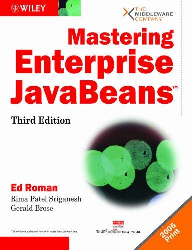 9788126505661: Mastering Enterprise JavaBeans
