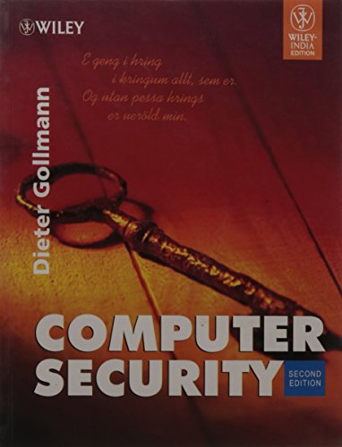 9788126506903: COMPUTER SECURITY ( 2nd Ed.)