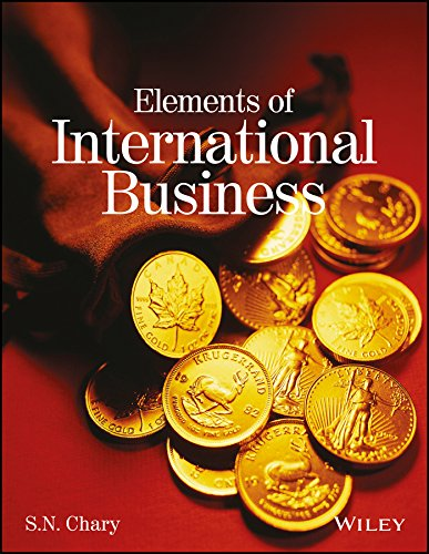 Elements of International Business: S. N. Chary